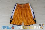 Pantalon NBA Golden State Warriors Jaune Pas Cher