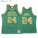 Maillot NBA CNY Throwback Boston Celtics NO.24 Sam Jones Vert 2020