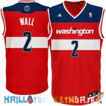 Maillot NBA Washington Wizards NO.2 John Wall Rouge Pas Cher