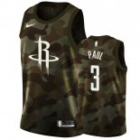 Maillot Houston Rockets Nike NO.3 Chris Paul Camouflage 2019 Pas Cher