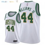 Maillot NBA Boston Celtics NO.44 Robert Williams III Nike Blanc Ville 2018-2019 Pas Cher