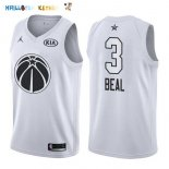 Maillot NBA 2018 All Star NO.3 Bradley Beal Blanc Pas Cher