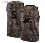 Maillot Washington Wizards NO.5 Markieff Morris Camo NBA Swingman Collection Realtree 2018 Pas Cher