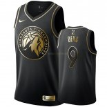 Maillot Minnesota Timberwolves Nike NO.9 Luol Deng Or Edition Pas Cher