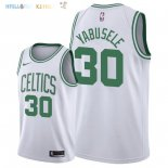Maillot NBA Boston Celtics NO.30 Guerschon Yabusele Blanc Association 2018-2019 Pas Cher