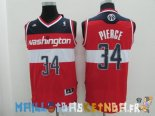 Maillot NBA Washington Wizards NO.34 Paul Pierce Rouge Pas Cher