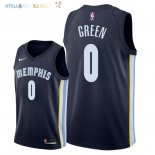 Maillot NBA Memphis Grizzlies NO.0 JaMychal Green Marine Icon 2018 Pas Cher