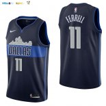 Maillot NBA Dallas Mavericks NO.11 Yogi Ferrell Noir Statement 2017-2018 Pas Cher