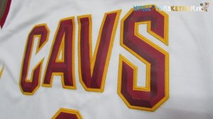 Maillot NBA Cleveland Cavaliers Nike NO.3 Isaiah Thomas Blanc Pas Cher
