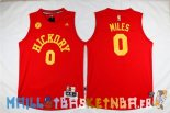 Maillot NBA Indiana Pacers NO.0 C.J. Miles Rouge Pas Cher