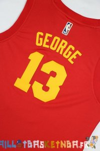 Maillot NBA Enfants Indiana Pacers NO.13 Paul George Rouge Pas Cher
