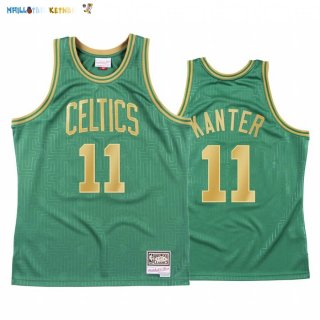 Maillot NBA CNY Throwback Boston Celtics NO.11 Enes Kanter Vert 2020