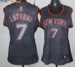 Maillot NBA Femme 2013 Static Fashion NO.7 Carmelo Anthony Pas Cher