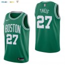 Maillot NBA Boston Celtics NO.27 Daniel Theis Vert Icon 2017-2018 Pas Cher