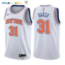 Maillot NBA New York Knicks NO.31 Ron Baker Blanc Statement 2017-2018 Pas Cher