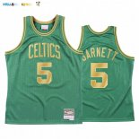 Maillot NBA CNY Throwback Boston Celtics NO.5 Kevin Garnett Vert 2020