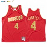 Maillot NBA CNY Throwback Huston Rockets NO.4 Charles Barkley Rouge 2020