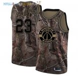 Maillot Washington Wizards NO.23 Michael Jordan Camo NBA Swingman Collection Realtree 2018 Pas Cher