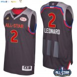 Maillot NBA 2017 All Star NO.2 Kawhi Leonard Charbon Pas Cher