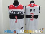 Maillot NBA Washington Wizards NO.3 Bradley Beall Blanc Pas Cher