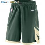 Pantalon NBA Milwaukee Bucks Nike Vert Pas Cher