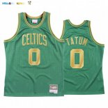 Maillot NBA CNY Throwback Boston Celtics NO.0 Jayson Tatum Vert 2020