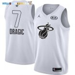 Maillot NBA 2018 All Star NO.7 Goran Dragic Blanc Pas Cher