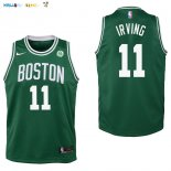 Maillot NBA Enfant Boston Celtics NO.11 Kyrie Irving Vert Pas Cher