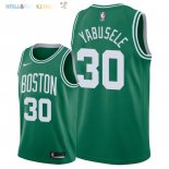 Maillot NBA Boston Celtics NO.30 Guerschon Yabusele Vert Icon 2018-2019 Pas Cher