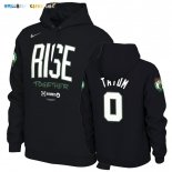 Hoodies NBA Boston Celtics NO.0 Jayson Tatum Noir
