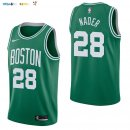 Maillot NBA Boston Celtics NO.28 Abdel Nader Vert Icon 2017-2018 Pas Cher