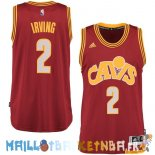 Maillot NBA Cleveland Cavaliers NO.2 Kyrie Irving 2015/2016 Rouge Pas Cher