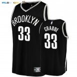 Maillot Brooklyn Nets NO.33 Allen Crabbe Noir Icon