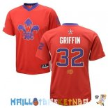 Maillot NBA 2014 All Star NO.32 Blake Griffin Rouge Pas Cher