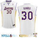 Maillot NBA L.A.Lakers NO.30 Julius Randle Blanc Pas Cher