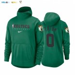 Hoodies NBA Boston Celtics NO.0 Jayson Tatum Vert