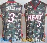 Maillot NBA 2013 Camouflage NO.3 Wade Pas Cher