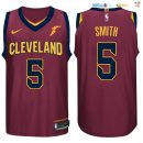 Maillot NBA Cleveland Cavaliers Nike NO.5 JR Smith Rouge Pas Cher