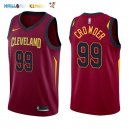 Maillot NBA Cleveland Cavaliers NO.99 Jae Crowder Rouge Icon 2017-2018 Pas Cher