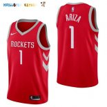 Maillot NBA Houston Rockets NO.1 Trevor Ariza Rouge Icon 2017-2018 Pas Cher