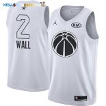 Maillot NBA 2018 All Star NO.2 John Wall Blanc Pas Cher