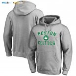 Hoodies NBA Boston Celtics Gris Vert