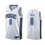 Maillot NBA Orlando Magic Nike NO.8 Terrence Ross Blanc Association 2019-20 Pas Cher
