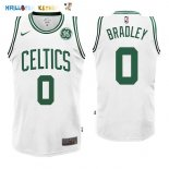 Maillot NBA Boston Celtics NO.0 Avery Bradley Blanc 2017-2018 Pas Cher