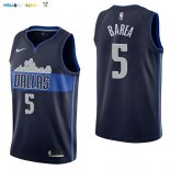 Maillot NBA Dallas Mavericks NO.5 J.J. Barea Noir Statement 2017-2018 Pas Cher