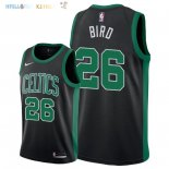 Maillot NBA Boston Celtics NO.26 Jabari Bird Noir Statement 2018 Pas Cher