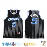 Maillot NBA Orlando Magic NO.5 Victor Oladipo Noir Pas Cher