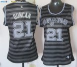 Maillot NBA Femme Groove Fashion NO.21 Tim Duncan Pas Cher