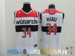 Maillot NBA Washington Wizards NO.34 Paul Pierce Blanc Pas Cher