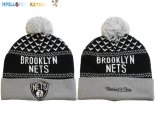 Gorritas NBA 2017 Brooklyn Nets Gris NO.09 Pas Cher